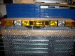 WHELEN EDGE 12 STROBE LIGHTBAR NEW LENS 6 MONTH WARRANTY