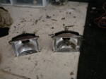 Pair of Whelen Edge Alley Lights With Newer style Hangers