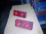 TOMAR DUAL HALOGEN RED RED 3 X 7